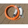 Câble Type 1 vers Type 2 monophasé 32A, longueur 7m